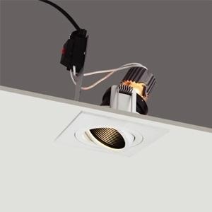โคมไฟดาวน์ไลท์ สี่เหลี่ยม-HYBRID-SM MR16