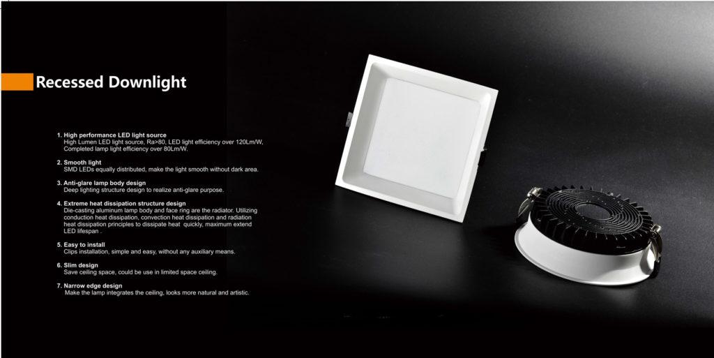 ไฟดาวน์ไลท์ LED SMD รุ่นใหม่ ประหยัดไฟ ทนทาน
